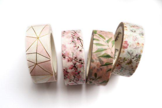 Barevné washi pásky
